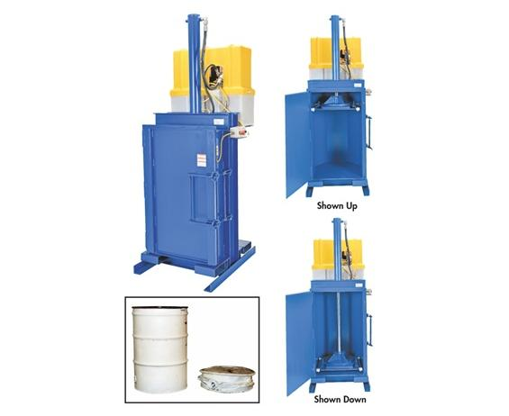 HYDRAULIC DRUM COMPACTOR/CRUSHER