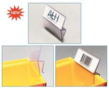 BIN•CLIP™ LABEL HOLDER