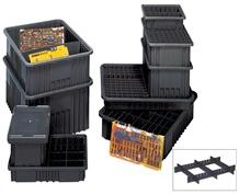 COVER FOR CONDUCTIVE DIVIDABLE GRID CONTAINER